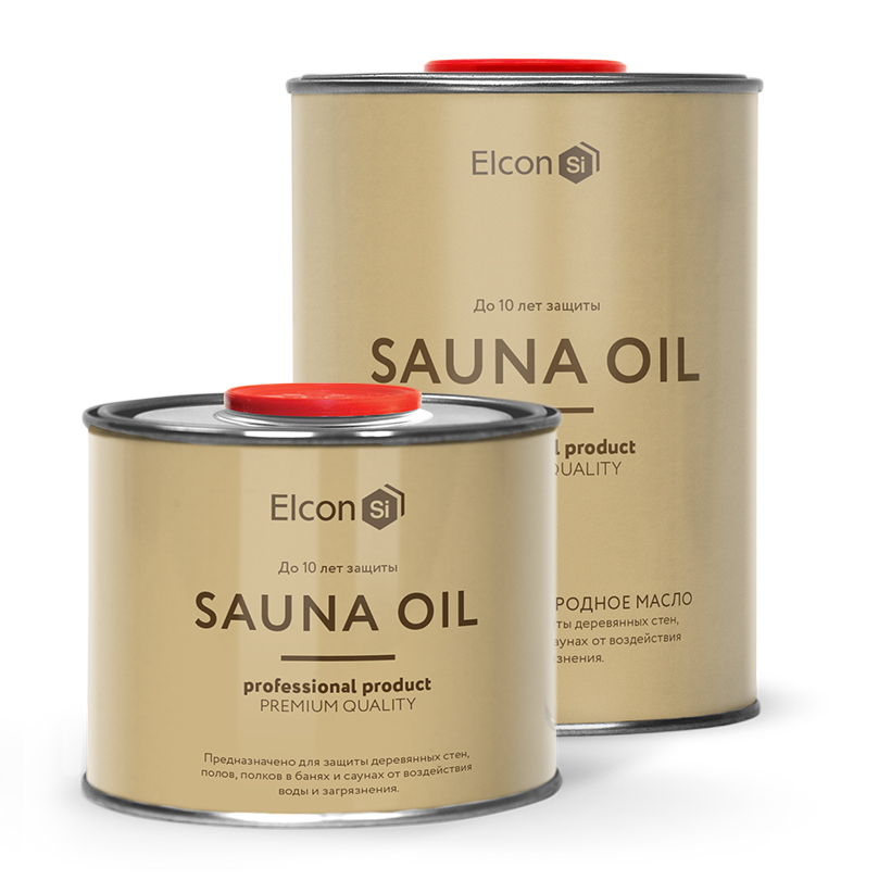 "Elcon Sauna Oil - производство ООО ""Элкон"""